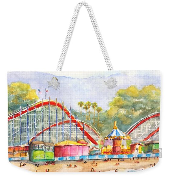 Santa Cruz Beach Boardwalk Weekender Tote Bag