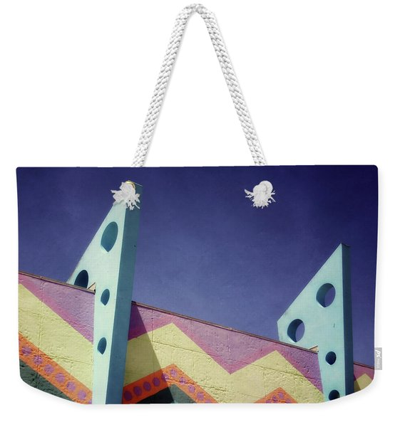 Santa Cruz Boardwalk - Photography  By Linda Woods Weekender Tote Bag