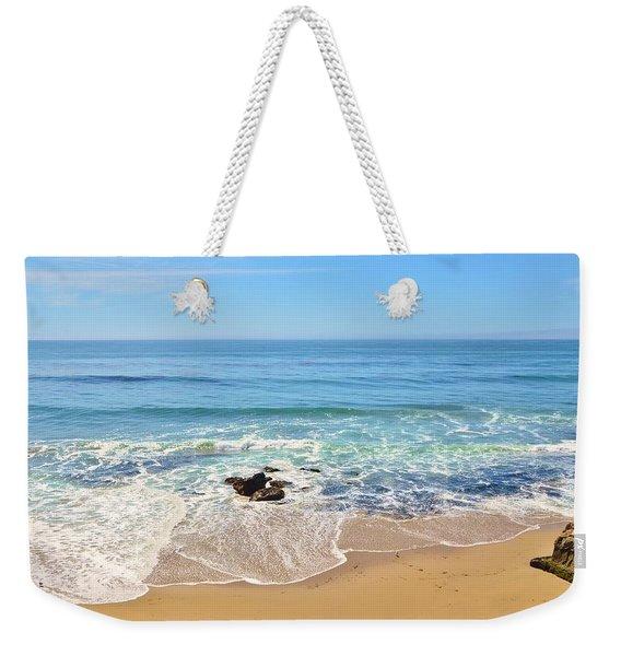 Santa Cruz Private Beach Weekender Tote Bag
