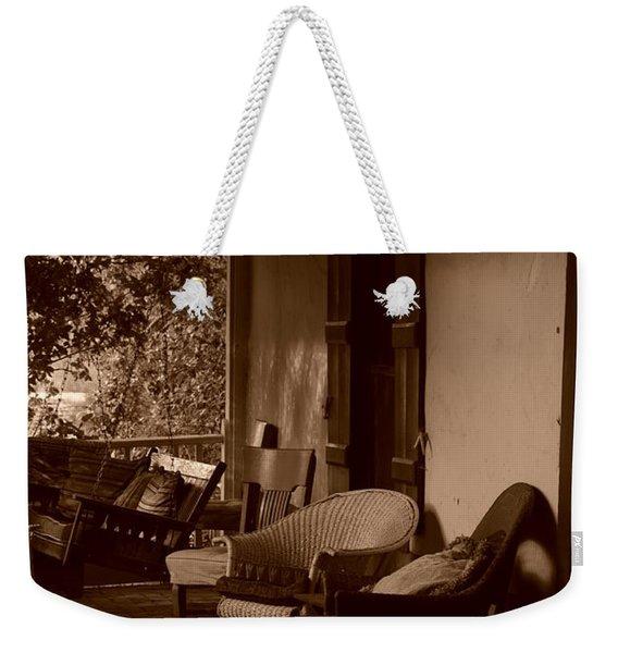 Santa Fe Porch Weekender Tote Bag