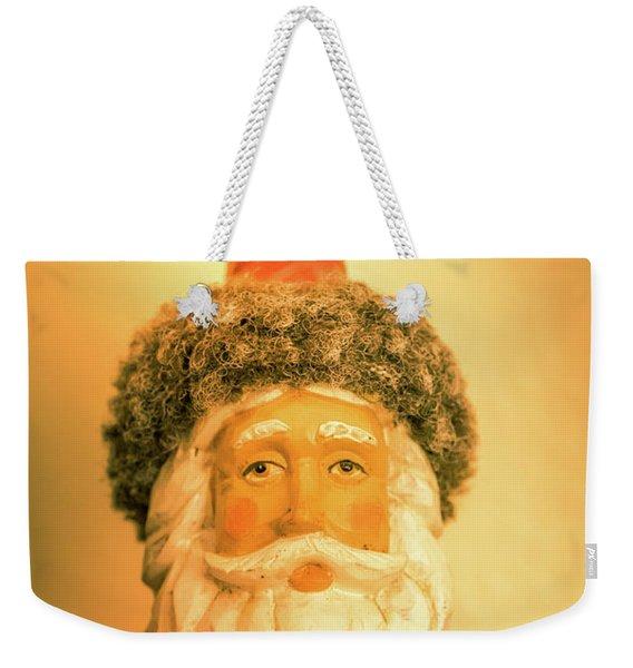 Santa Is Watching Weekender Tote Bag