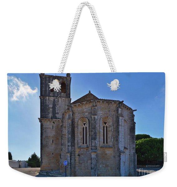 Santa Maria Do Carmo Church In Lourinha. Portugal Weekender Tote Bag