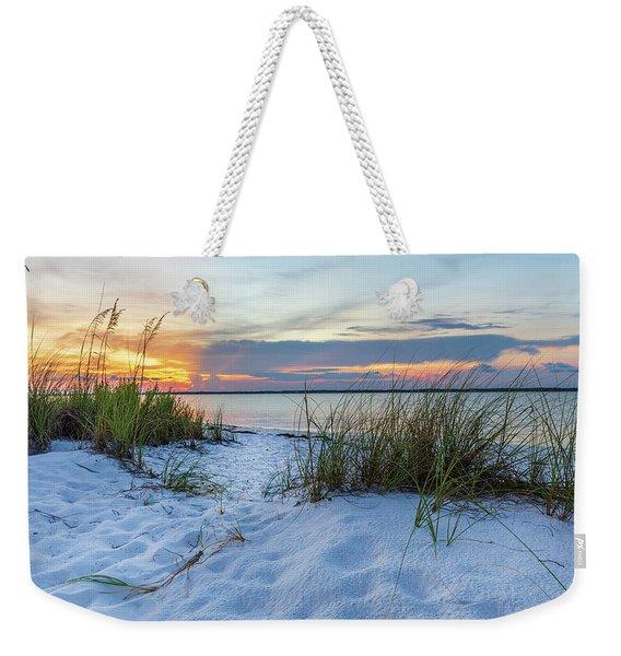 Santa Rosa Sound Sunset Weekender Tote Bag