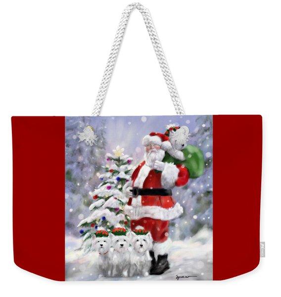 Santa's Helpers Weekender Tote Bag