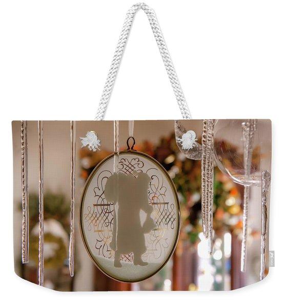 Santa's Icicles Weekender Tote Bag