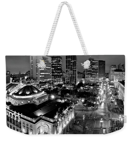 Sao Paulo Downtown - Viaduto Do Cha And Around Weekender Tote Bag
