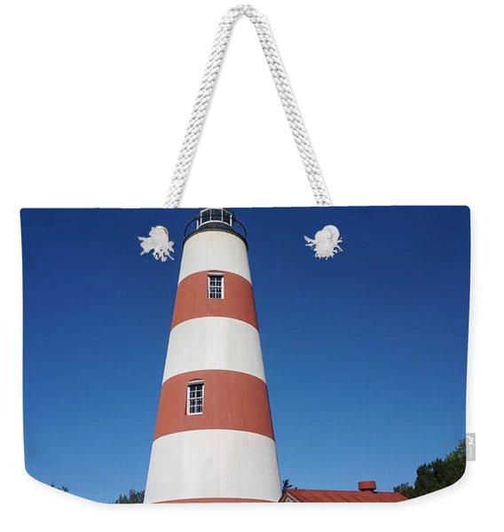 Sapelo Island Lighthouse Weekender Tote Bag