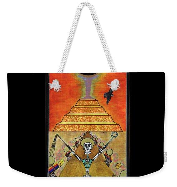Saqqara Under Cooonstructiooon Weekender Tote Bag