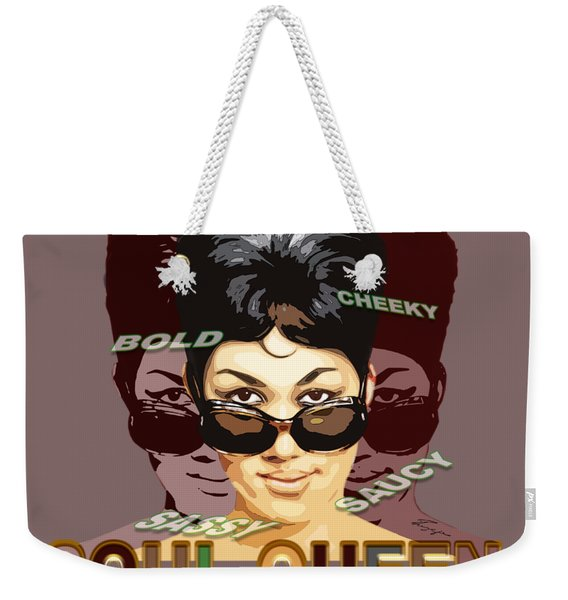 Sassy Soul Queen Aretha Franklin Weekender Tote Bag