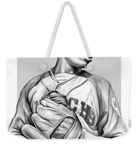 Satchel Paige Weekender Tote Bag