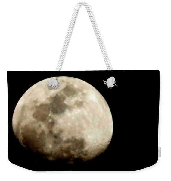 Satellite Serenade  Weekender Tote Bag