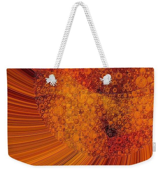 Saturated In Sun Rays Weekender Tote Bag