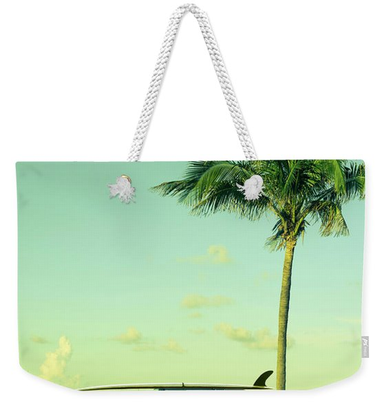 Saturday Weekender Tote Bag