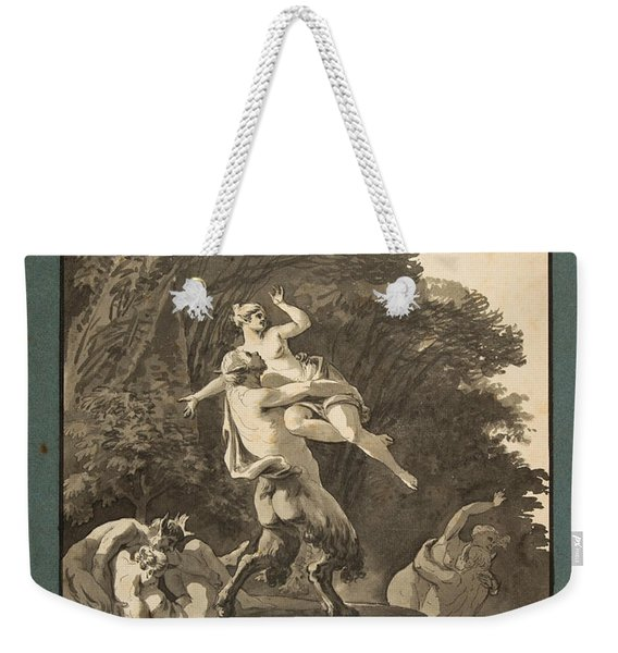 Satyrs Abducting Nymphs Weekender Tote Bag
