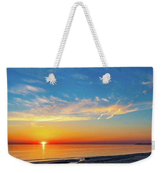 Sauble Beach Sunset 5 Weekender Tote Bag