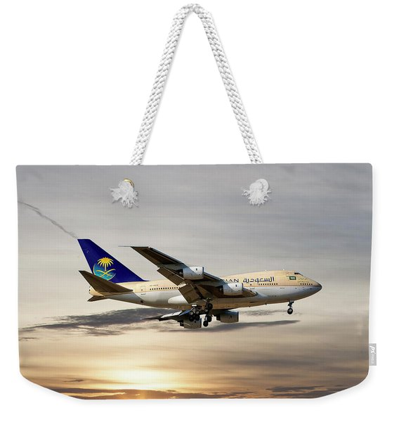 Saudi Arabian Government Boeing 747-sp Weekender Tote Bag