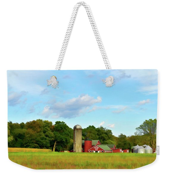 Sauer Farm, Mt. Marion Weekender Tote Bag