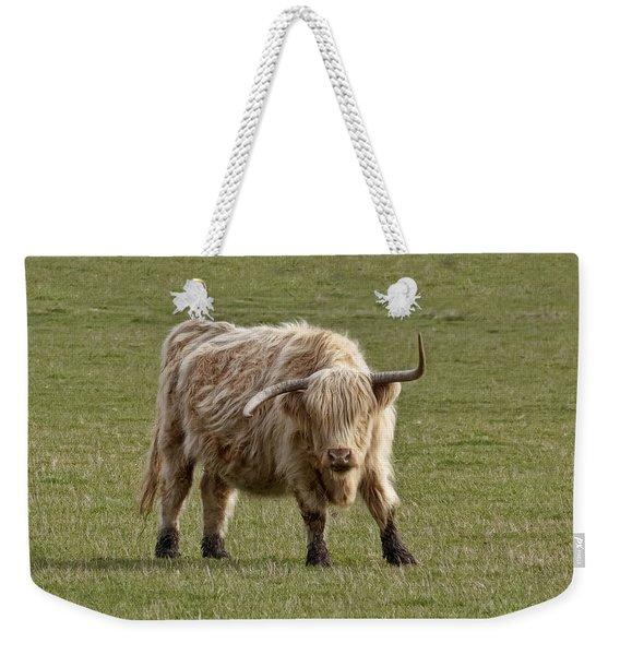 Sauvie Island Cow Weekender Tote Bag