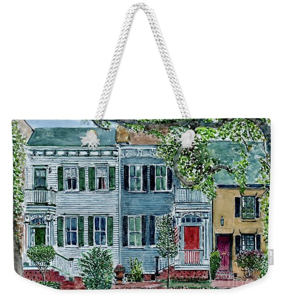 Savannah, Georgia Weekender Tote Bag