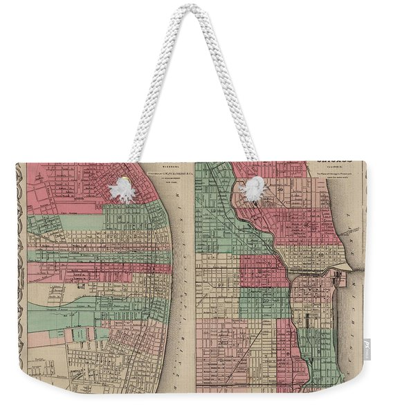 Savannah, Georgia. Charleston, South Carolina Weekender Tote Bag