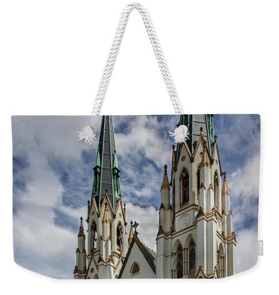Savannah Historic Cathedral Weekender Tote Bag