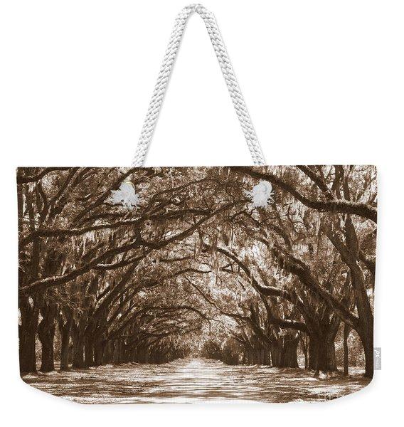Savannah Sepia - Glorious Oaks Weekender Tote Bag