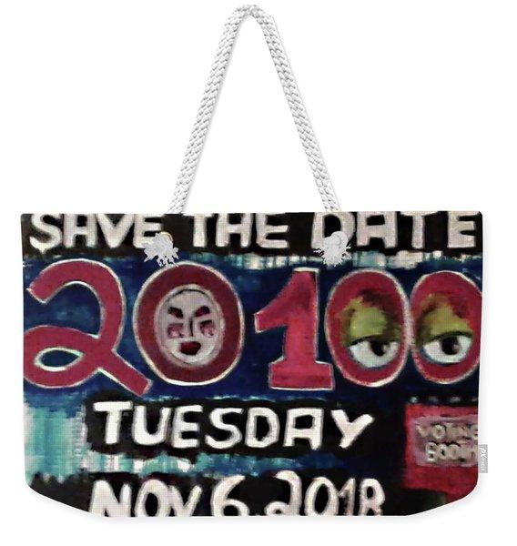 Save The Day Weekender Tote Bag