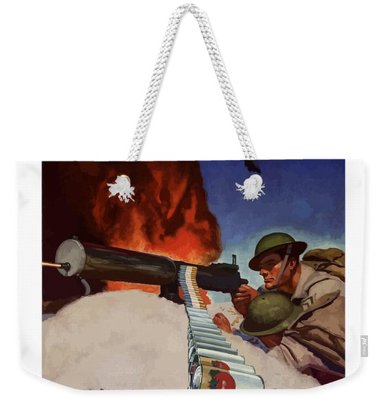 Save Your Cans - Help Pass The Ammunition Weekender Tote Bag