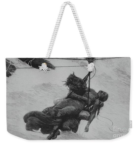 Saved, 1889 Weekender Tote Bag