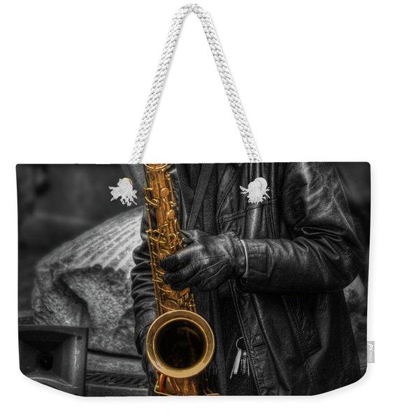 Sax Love Weekender Tote Bag