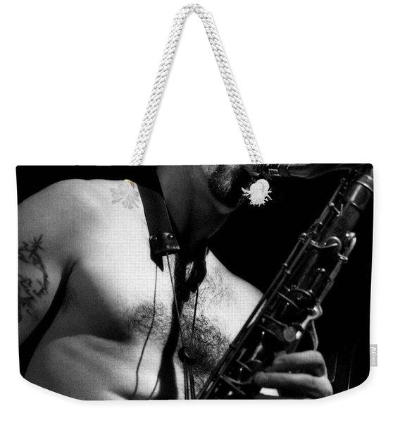 Sax Weekender Tote Bag