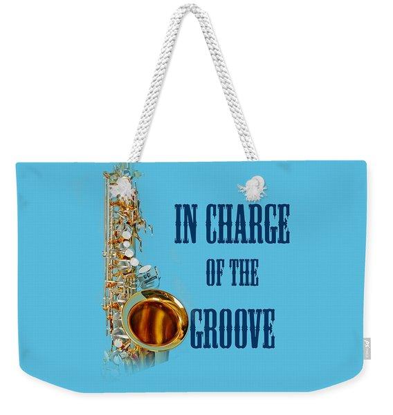 Saxophones In Charge Of The Groove 5532.02 Weekender Tote Bag