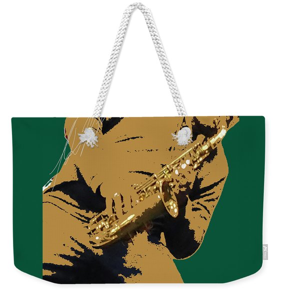Saxual Passion Weekender Tote Bag