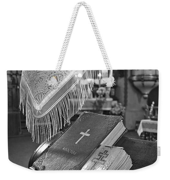 Say A Little Prayer Weekender Tote Bag