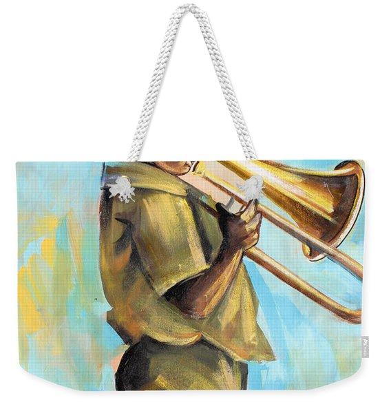 Say It Loud Weekender Tote Bag