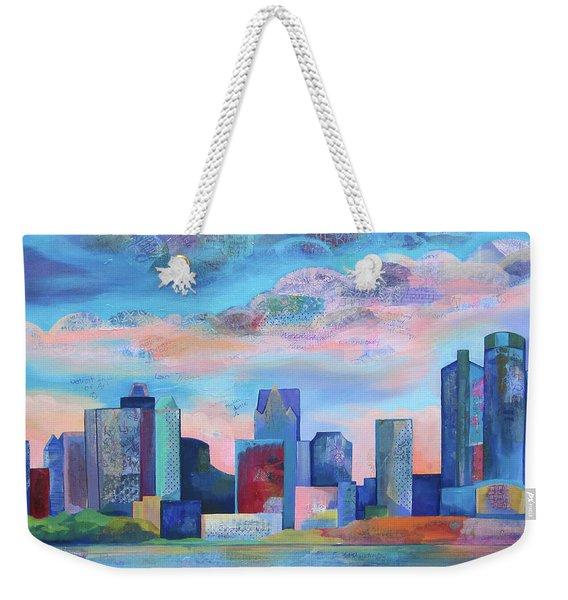 Say Nice Things About Detroit Weekender Tote Bag