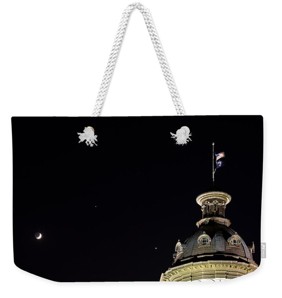 Sc State House Dome And Conjunction Weekender Tote Bag