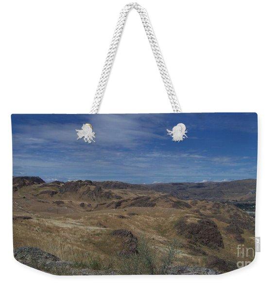 Scablands At Grand Coulee Weekender Tote Bag