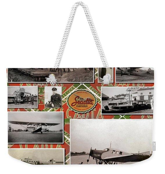 Scadta Airline Poster Weekender Tote Bag