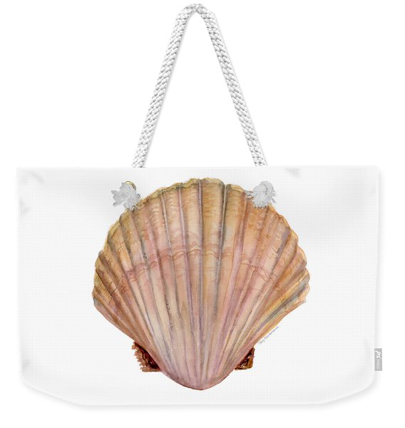 Scallop Shell Weekender Tote Bag