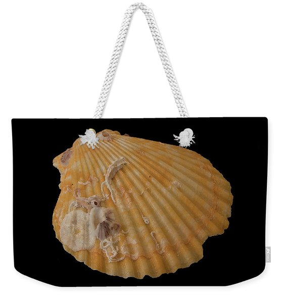 Scallop With Guests Weekender Tote Bag