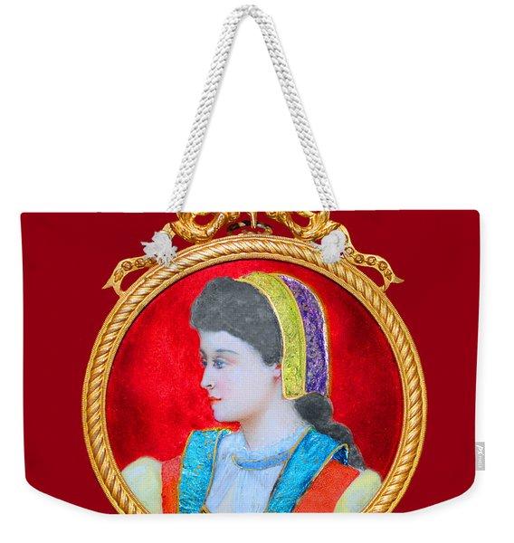 Scandinavian Maiden Limoge Weekender Tote Bag