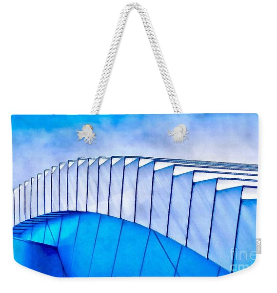 Scaped Glamour Weekender Tote Bag