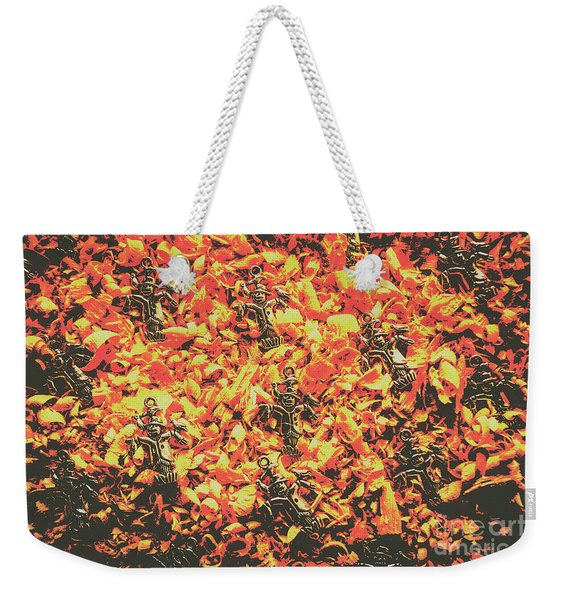 Scarecrows From Fires Burn  Weekender Tote Bag