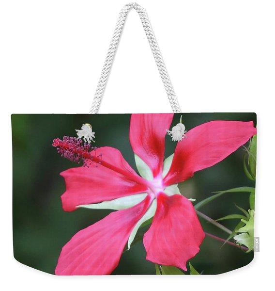 Scarlet Hibiscus #4 Weekender Tote Bag