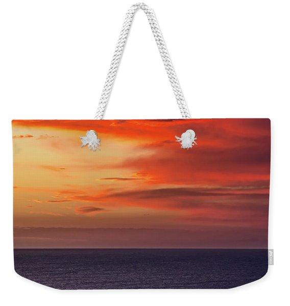 Scarlet Moods Weekender Tote Bag