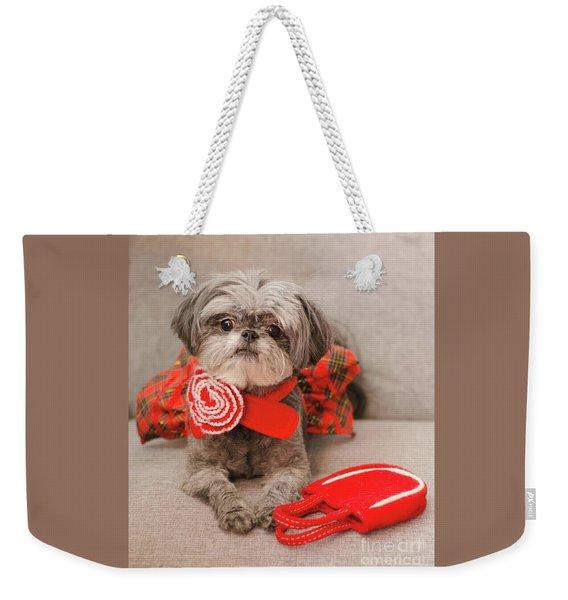Scarlett And Red Purse Weekender Tote Bag