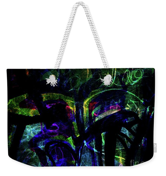 Scary Face-1 Weekender Tote Bag