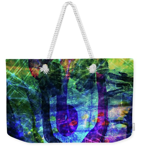 Scary Face-2 Weekender Tote Bag