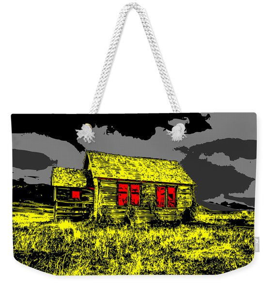 Scary Farmhouse Weekender Tote Bag
